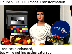Figure 9 3D LUT Image Transformation